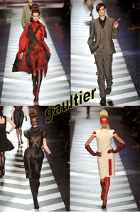 the many fall '09 faces of gaultier.