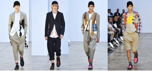 comme des garcons menswear s/s 2010: 4 favorites.