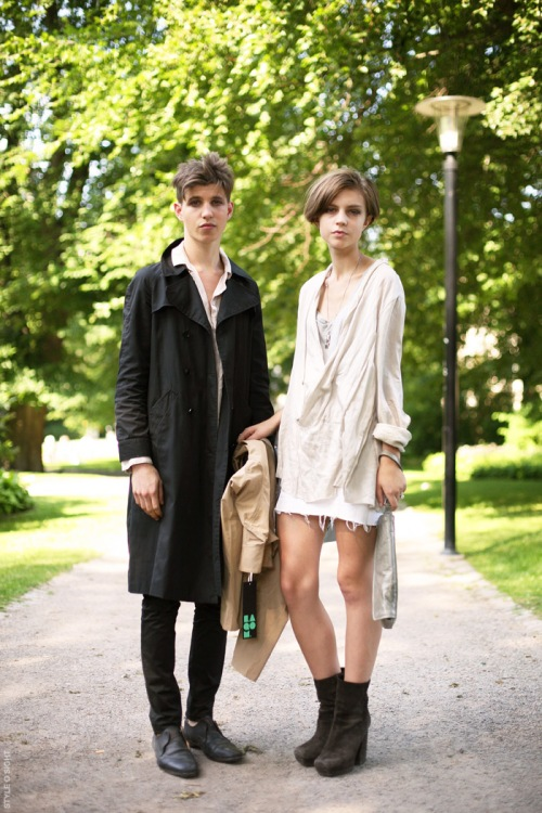 heroin-chic couple