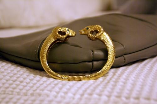 at long last - kjl for avon ram bracelet from jimmy!