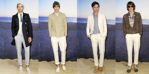 boy by band of outsiders: the gents. 5-8 of 8.