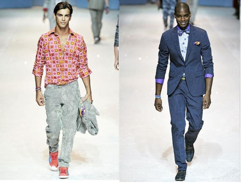 the men of etro show off their grins & pearly whites: 1-2 of 4.