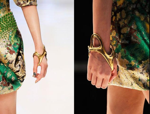 bracelet detail.
